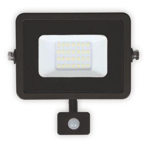 LUMAX LED reflektor 20W PLATI PIR 1400lm SLIM Teplá bílá